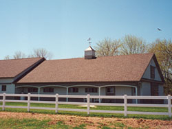 Custom Horse Barn, Parco Buildings