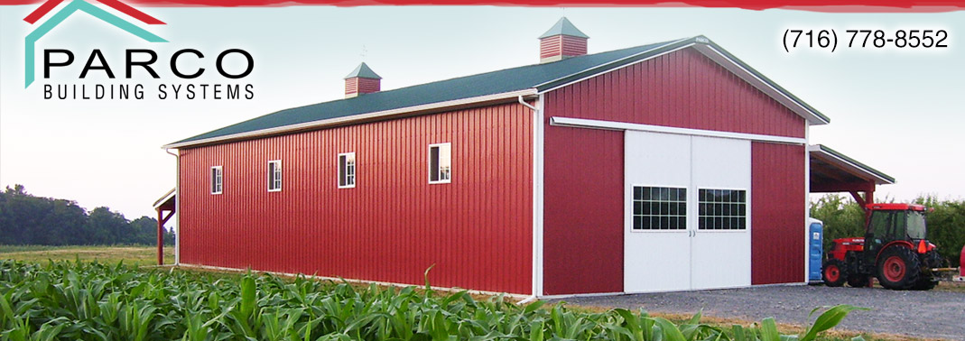Pole Barn Homes By Parco In Newfane NY And Post Frame