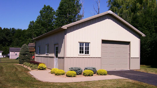 Residential post frame buildings post frame garages Residential pole barn homes