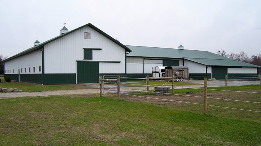 equine pole barn